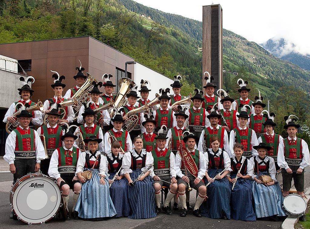 Die Musikkapelle Saltaus